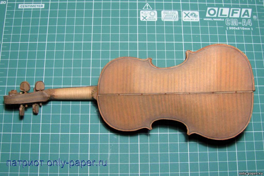 Как из картона сделать скрипку