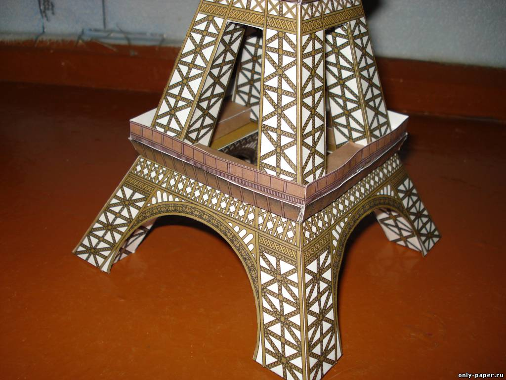Эйфелева башня сделана своими руками 856