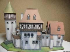 Как сделать навесной замок из бумаги