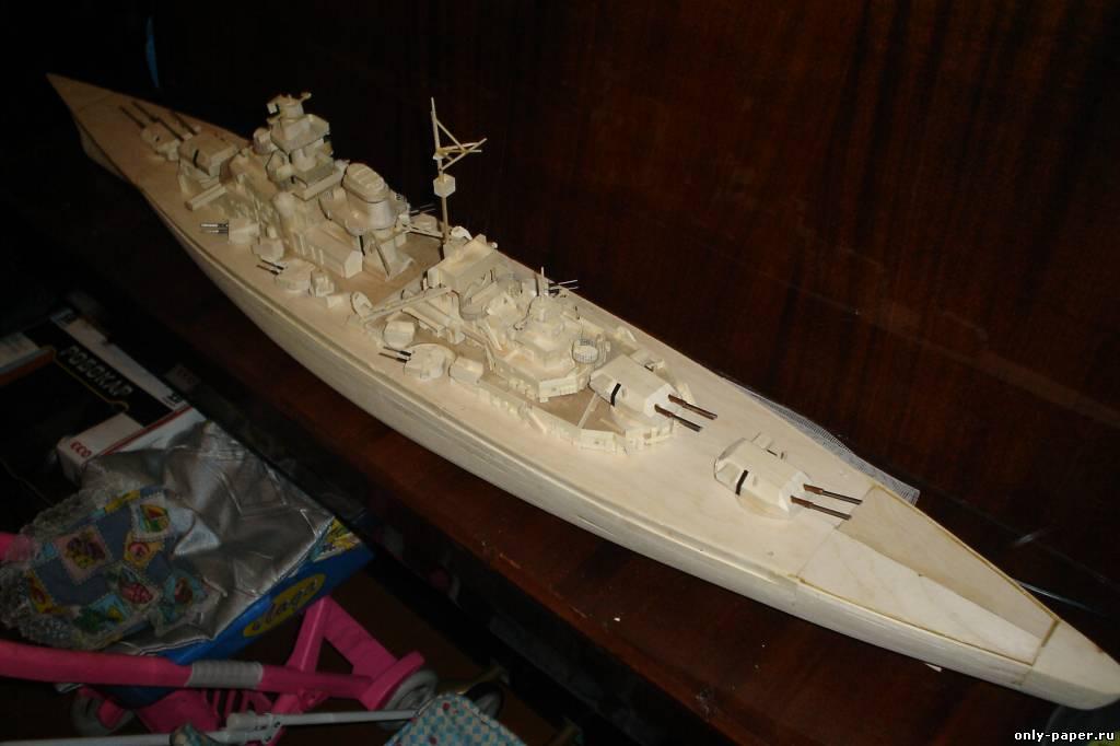 игрушечная лодка из фанеры