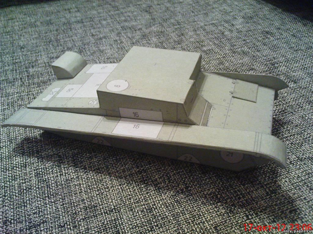 Макет т-34 своими руками 87