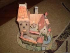 Замок из палочек от мороженого своими руками 52