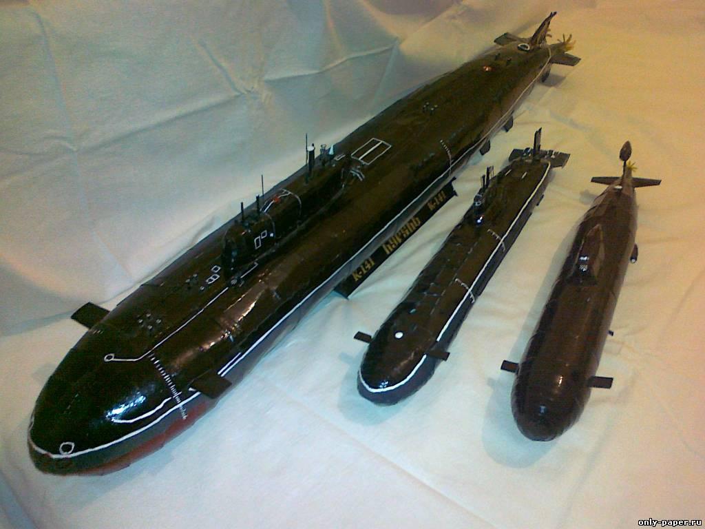 атомные подводные лодки проектов 971 и 949