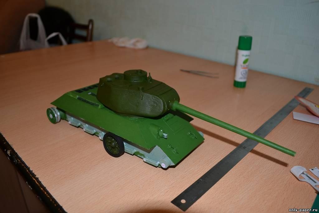 Макет т-34 своими руками 74