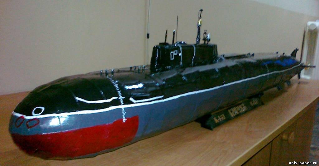 сделать управляемую подводную лодку