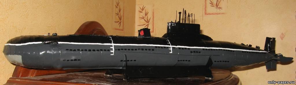 Поделка своими руками - подводная лодка 34