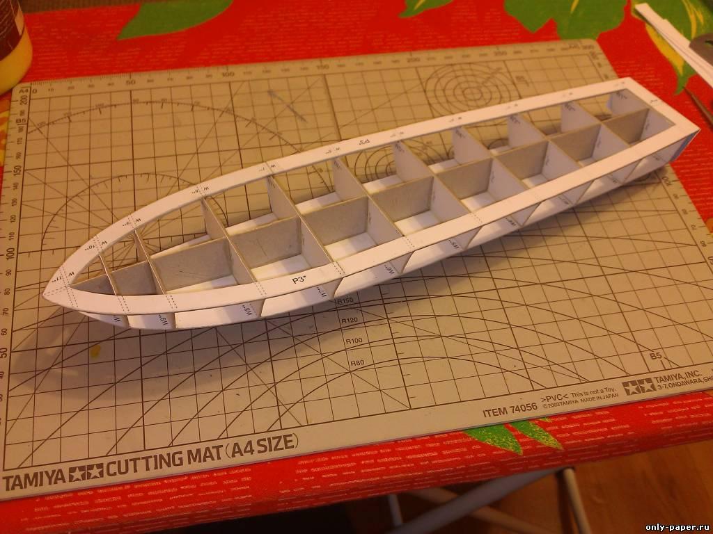 Сделать макет лодки своими руками 55