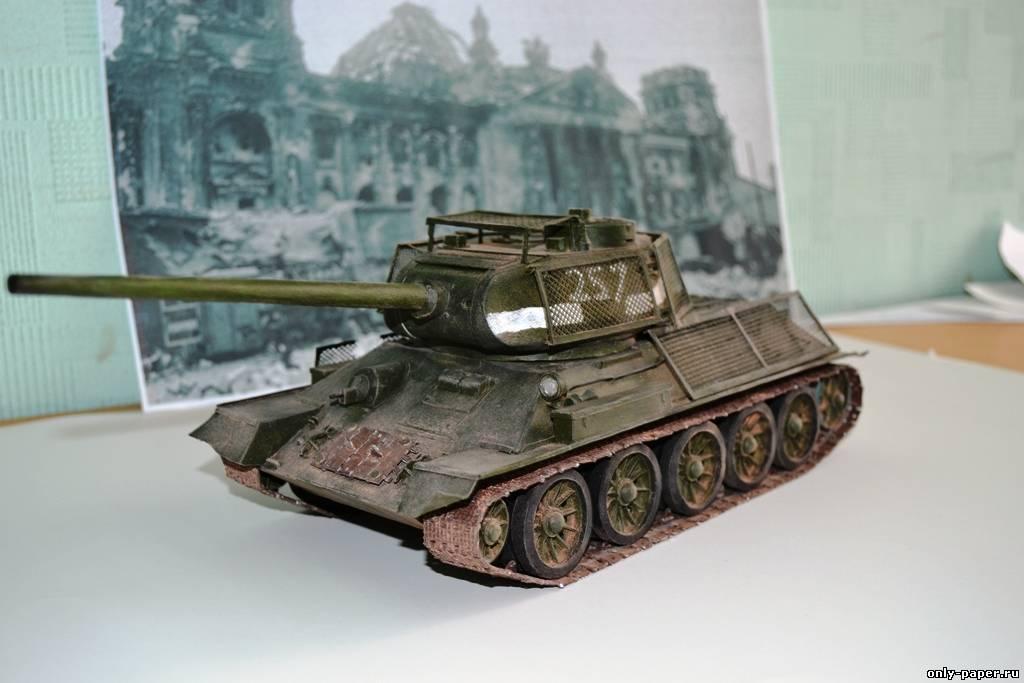 Макет т-34 своими руками 12