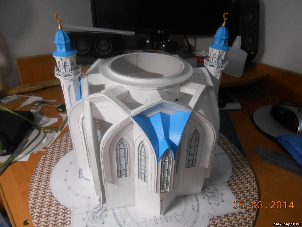 Как сделать макет мечети из бумаги своими руками 15