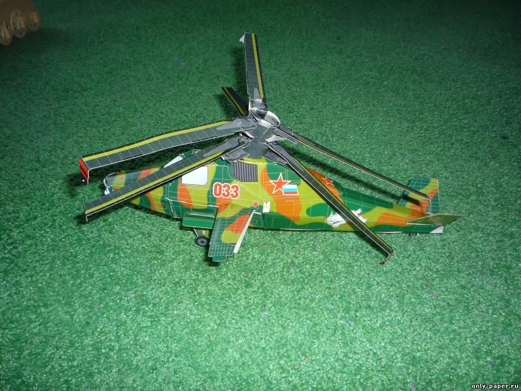 Как из картона сделать вертолет муха