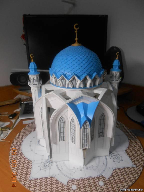 Как сделать макет мечети из бумаги своими руками 25