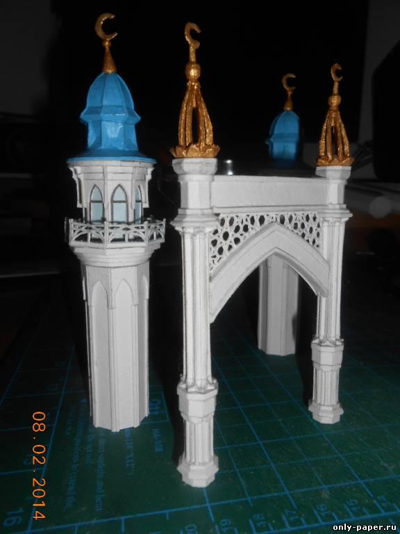 Как сделать макет мечети из бумаги своими руками 68