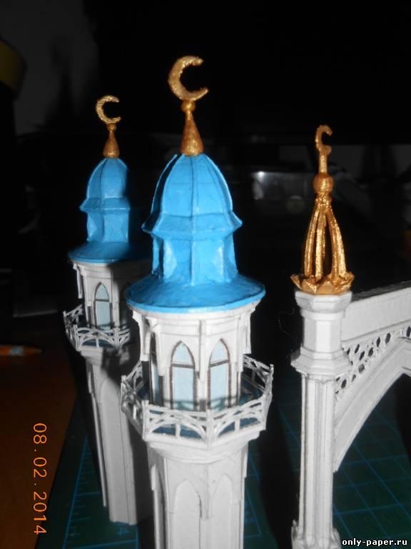 Как сделать макет мечети из бумаги своими руками 16