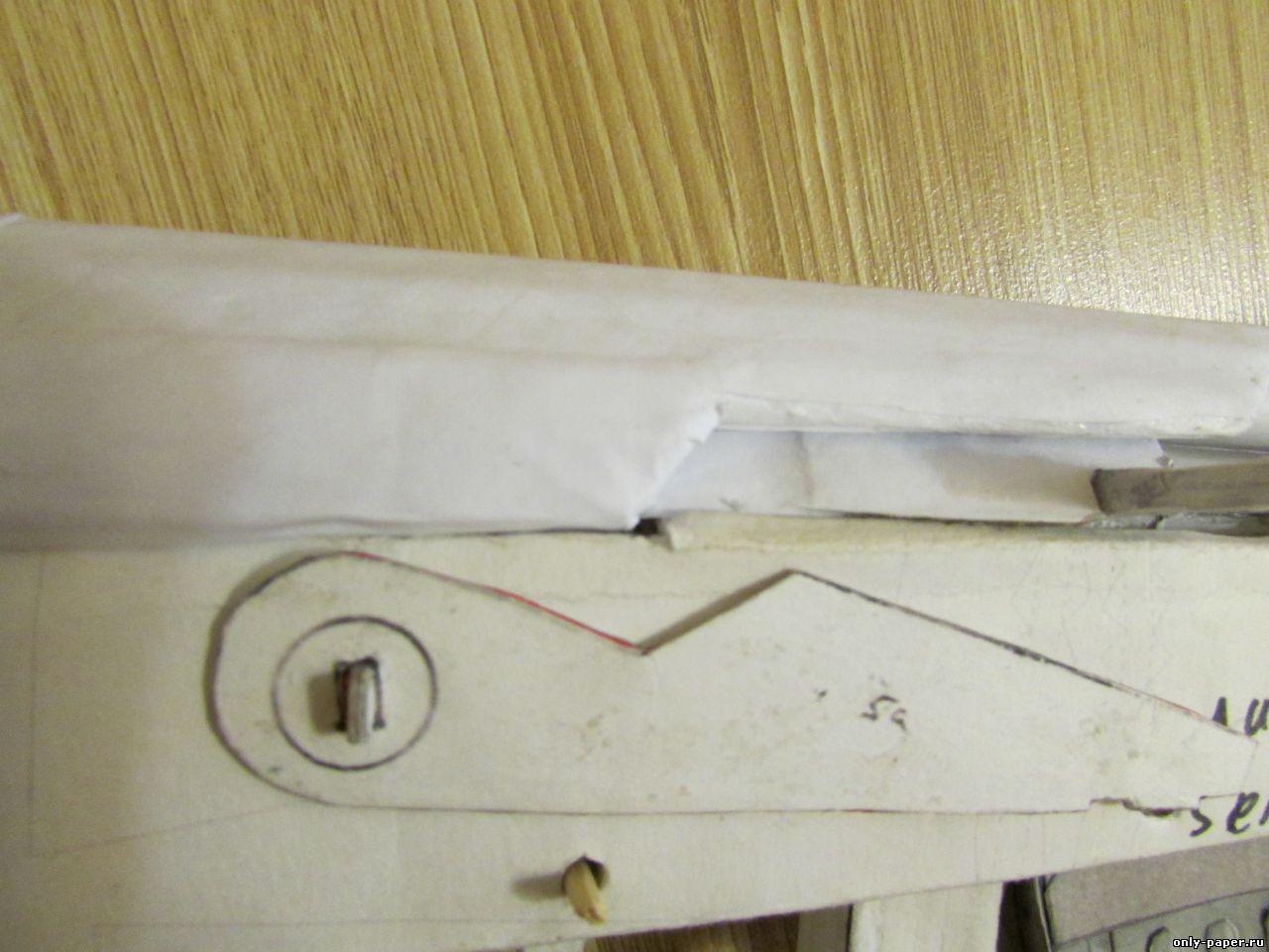 Как сделать из бумаге клинок ассасина 926