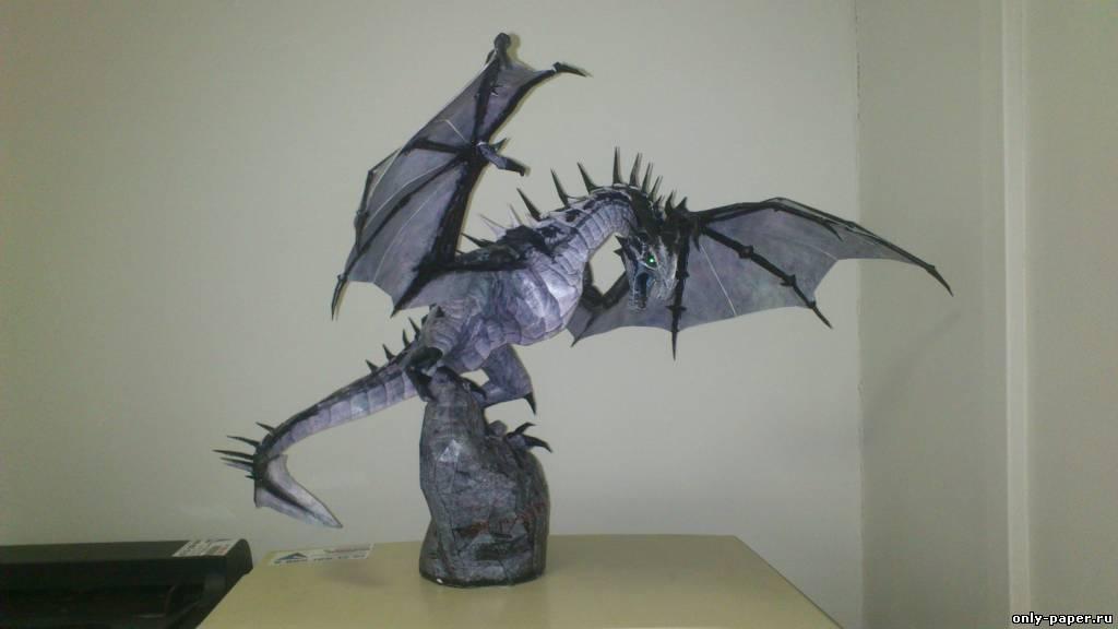 Как сделать дракона из моделей