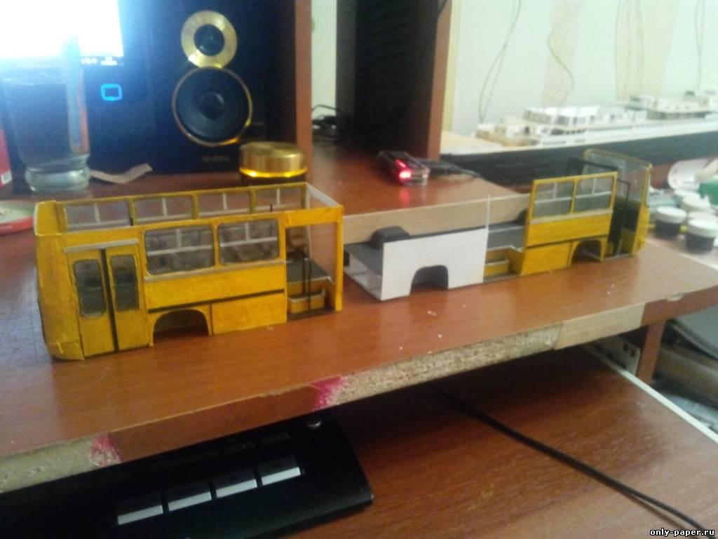Автобус из картона своими руками