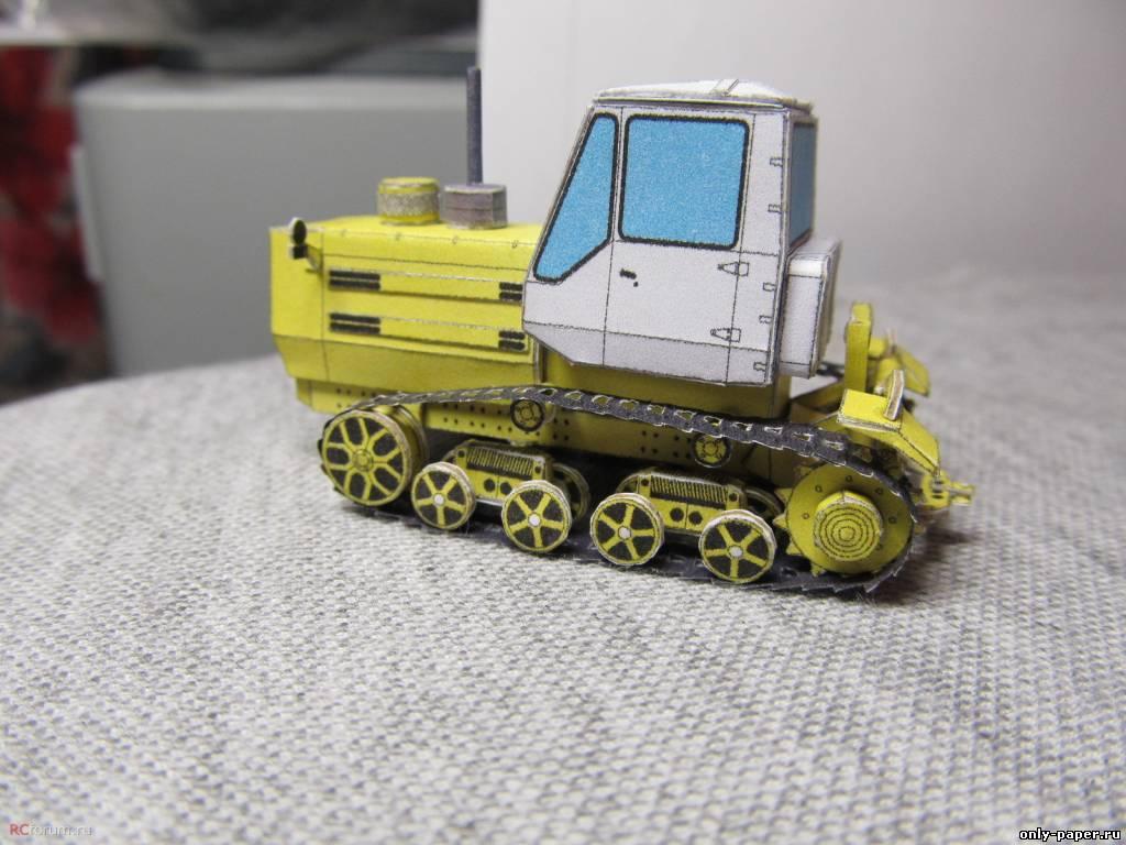 Фото трактор из бумаги