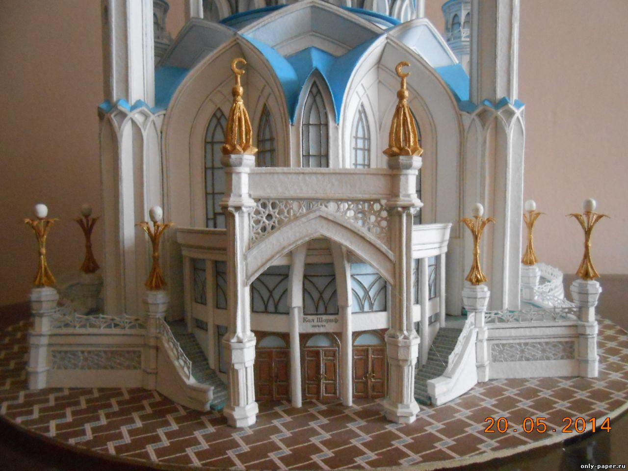 Как сделать макет мечети и из чего