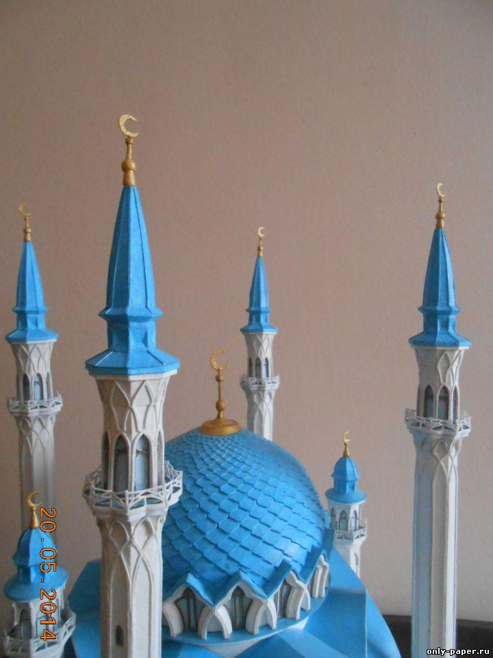 Как сделать макет мечети из бумаги своими руками 33