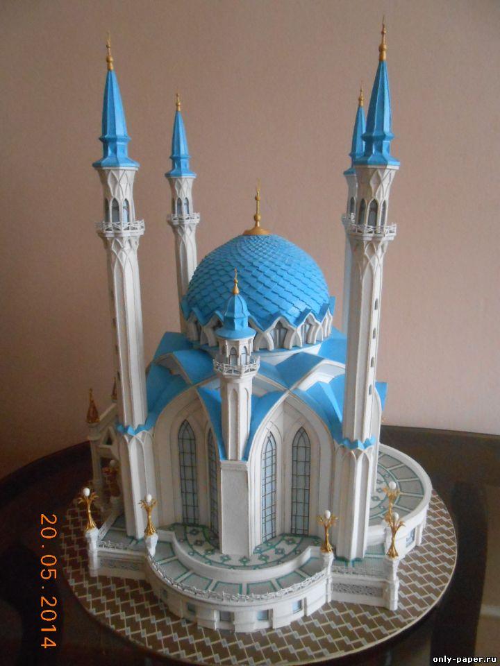 Как сделать макет мечети
