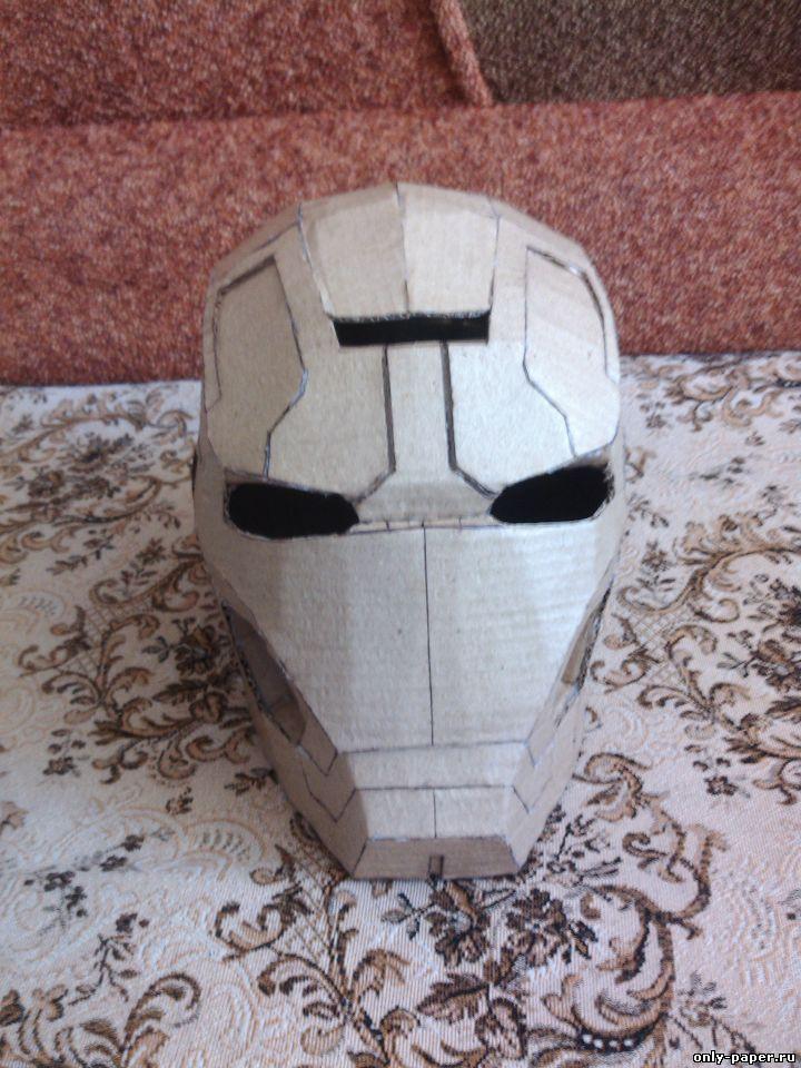 Сделать маску железного человека из бумаги своими руками 919