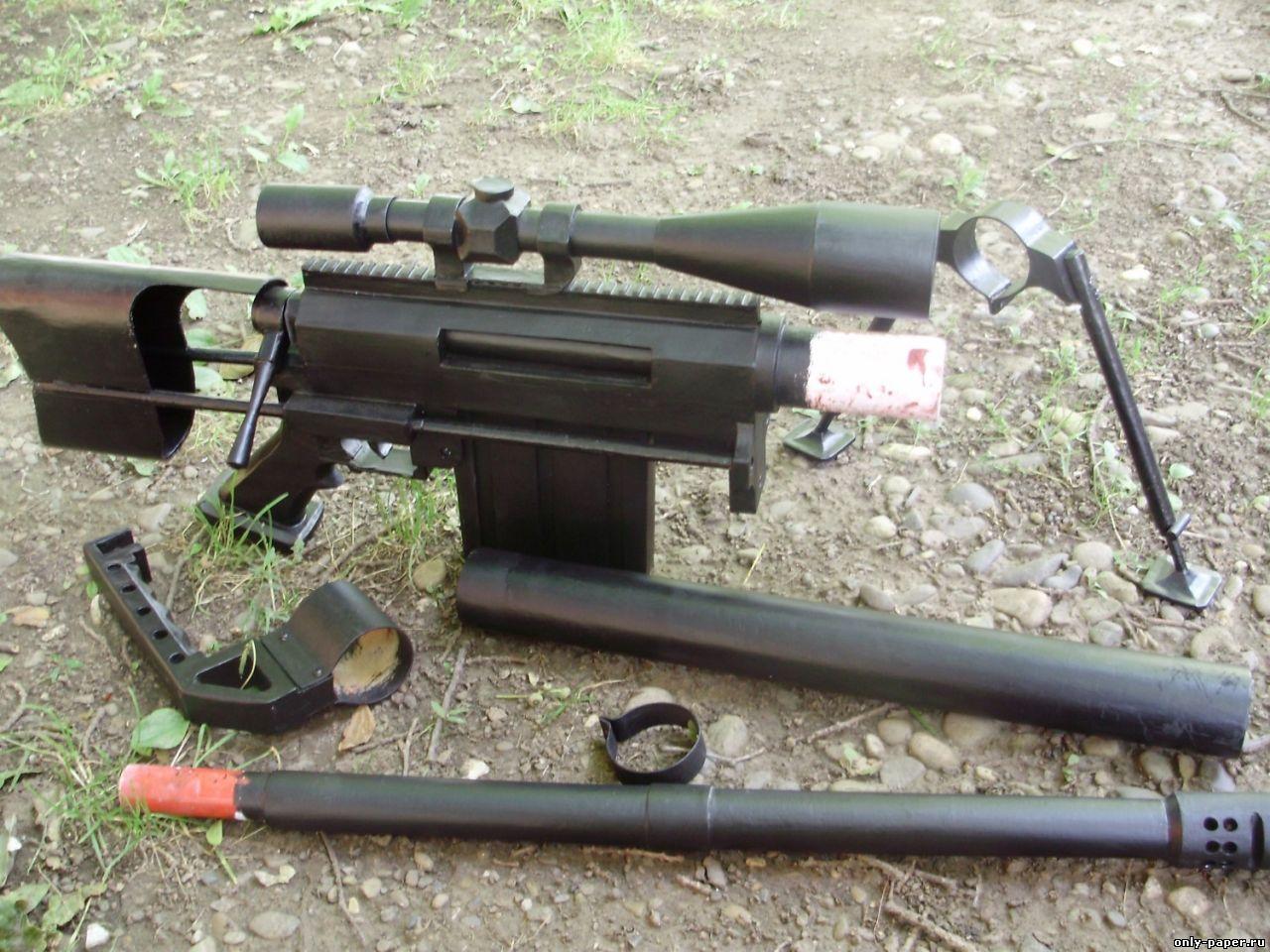 Как сделать из дерева снайперскую винтовку? Снайперская 96
