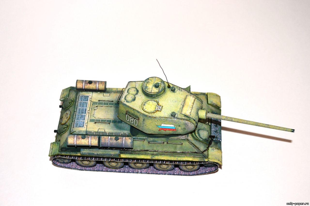 Макет т-34 своими руками 98