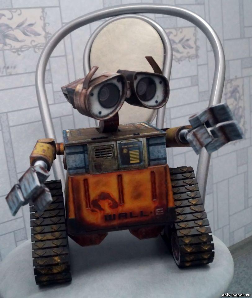 Как сделать робот валли