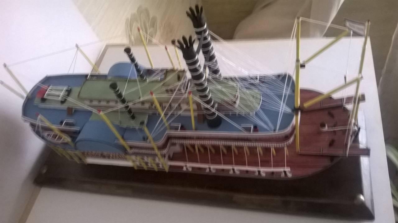 Колесный пароход своими руками 82