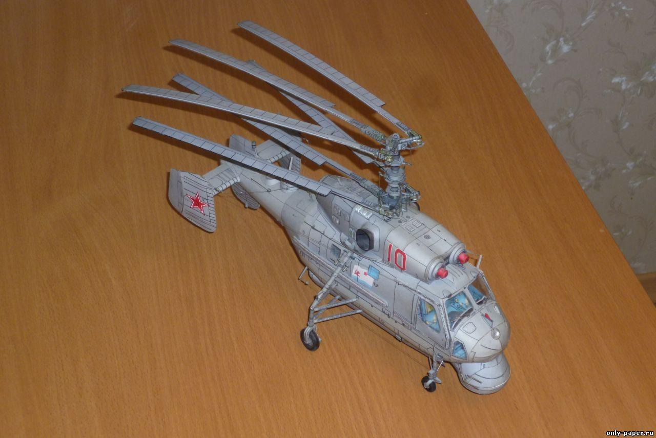 Вертолетик из бумаги своими руками