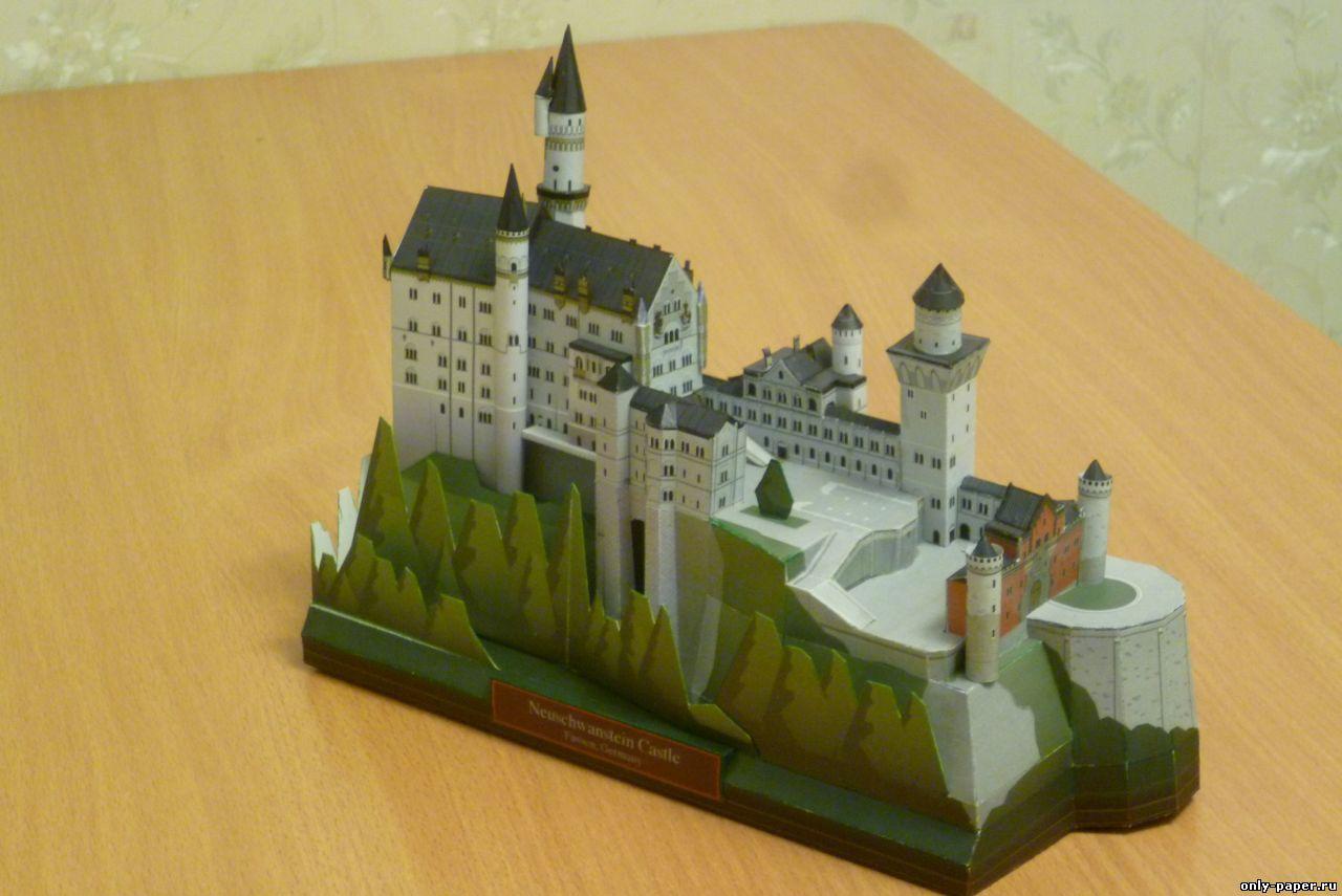 Как сделать макеты замков
