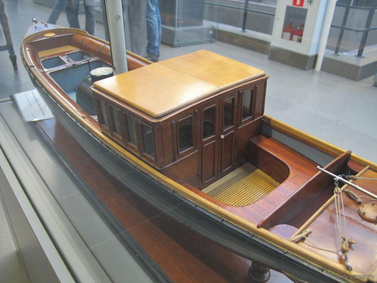 Как сделать модель катера