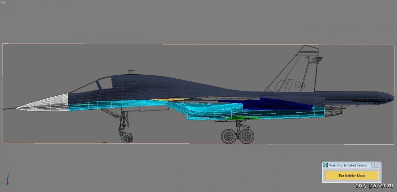 подробная схема сборки самолета су-27