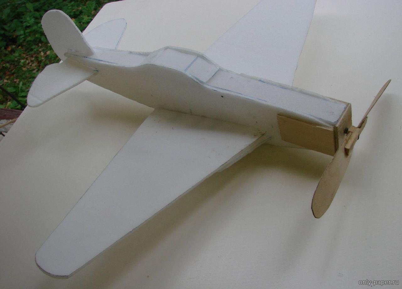 Делаем авиамодели из потолочной плитки своими руками 47