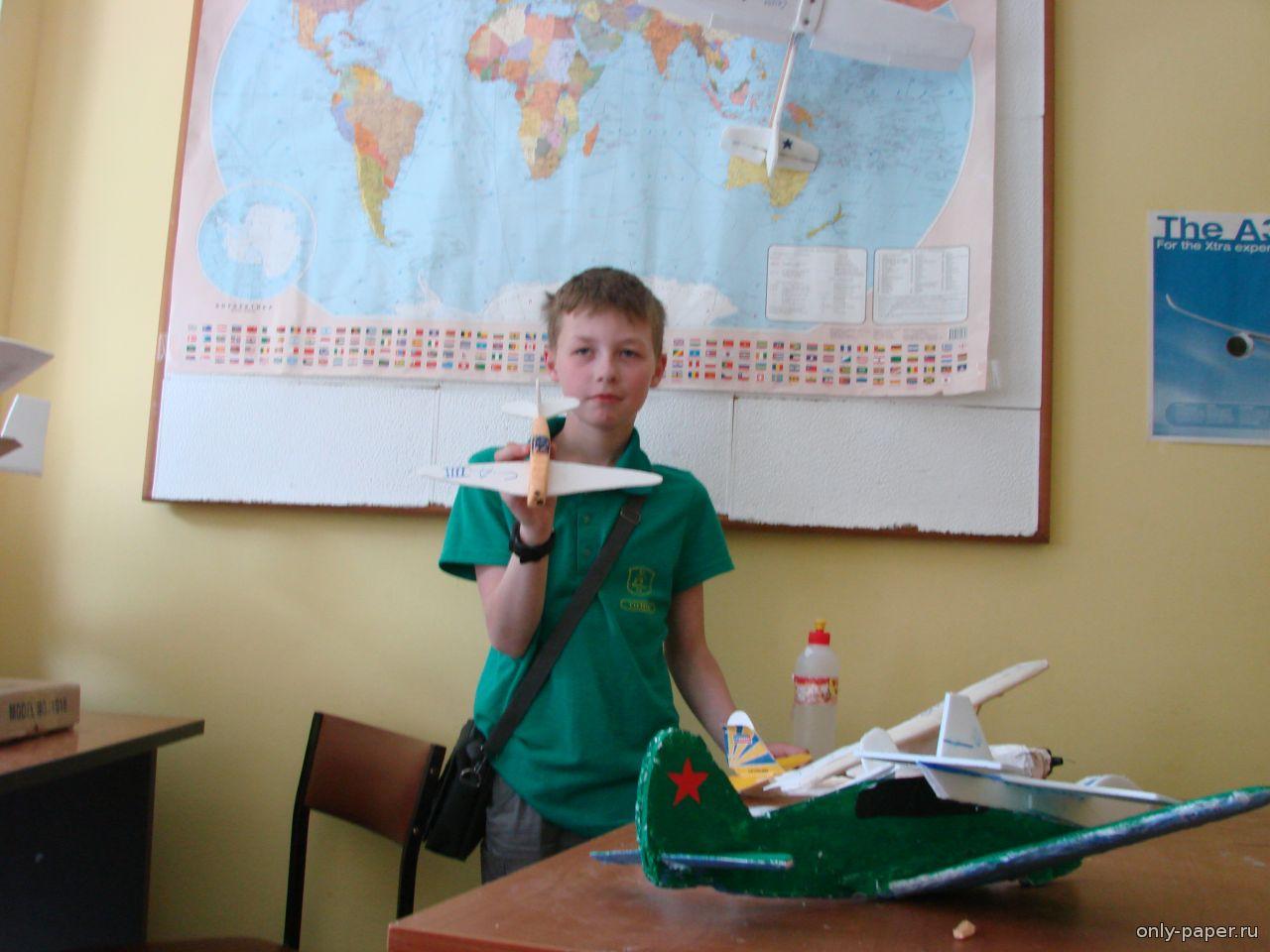 инструкция для изделия маленького самолёта из реек