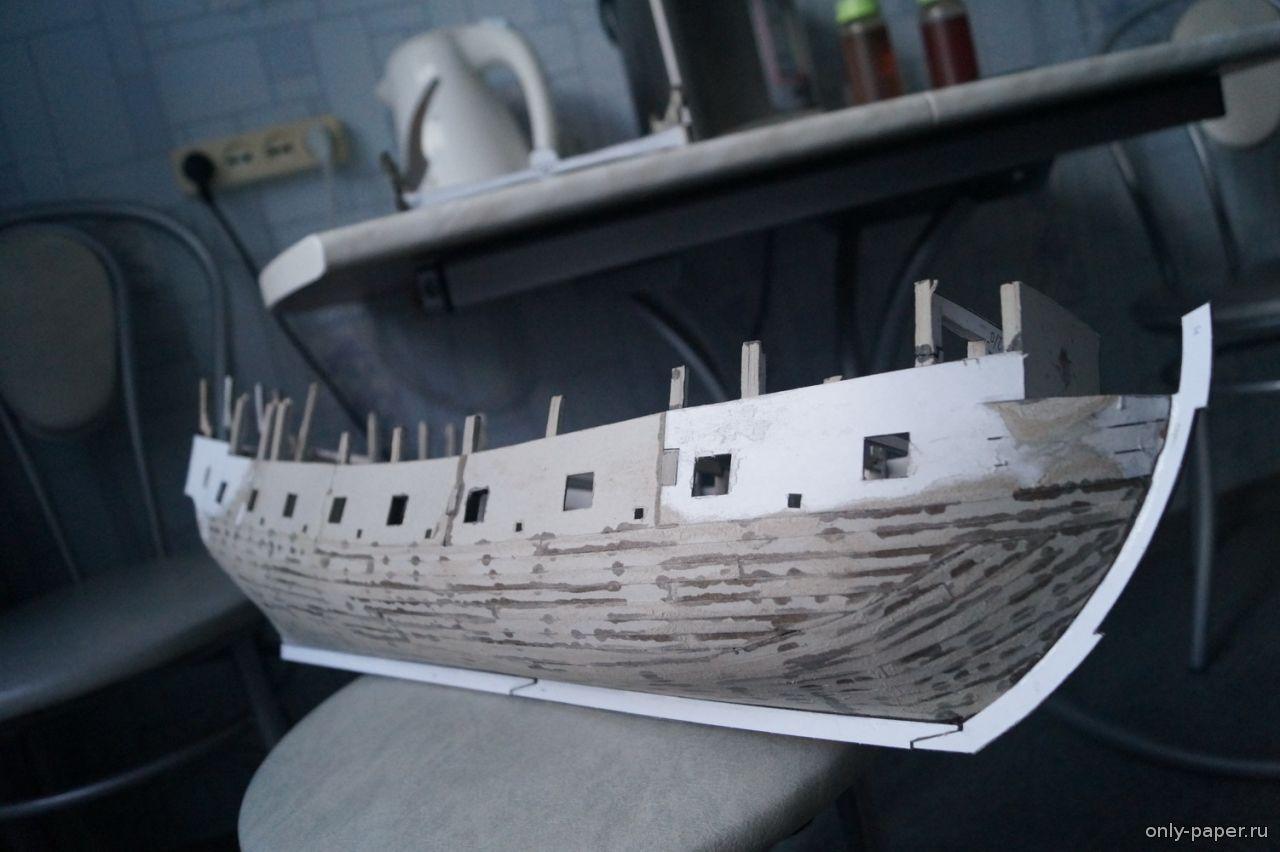 Модель корабля своими руками черная жемчужина 98