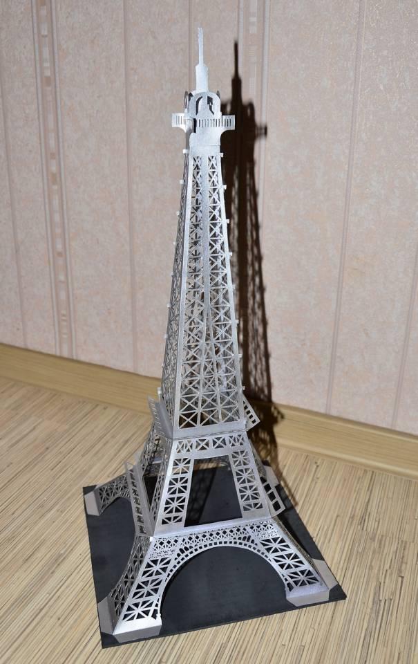 Башня своими руками из бумаги