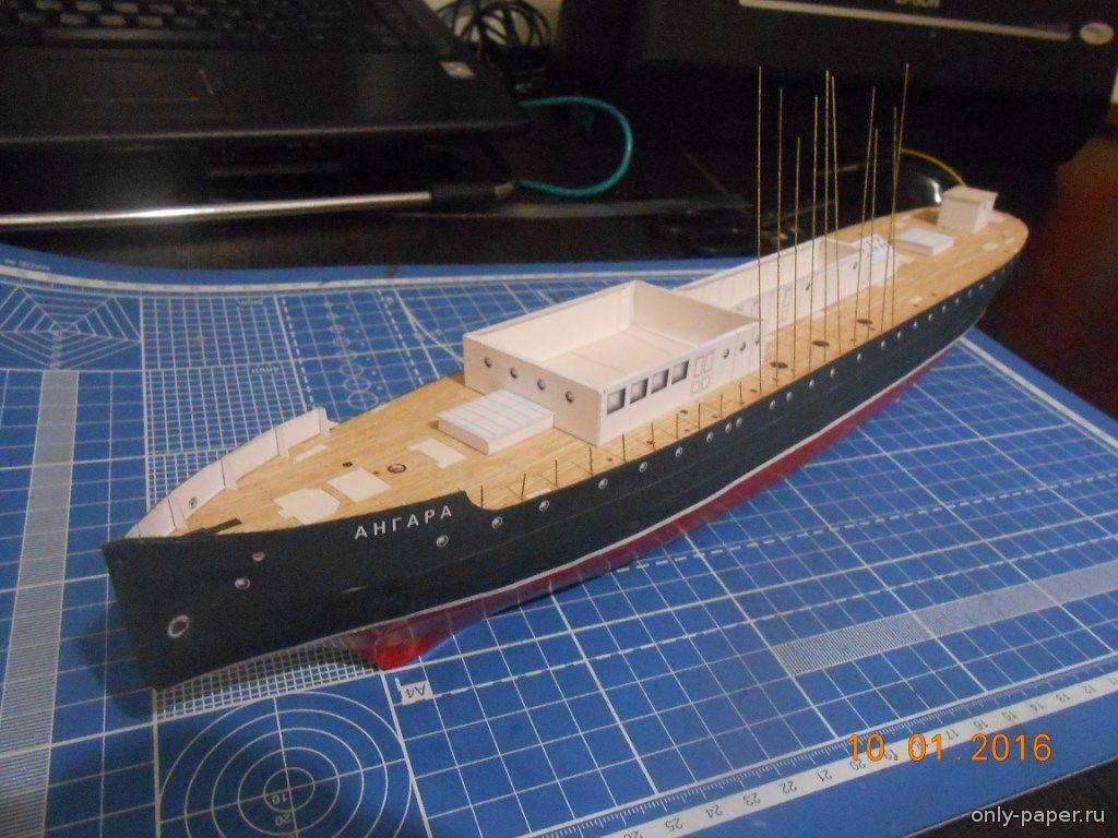 Модель корабля своими руками из картона 44