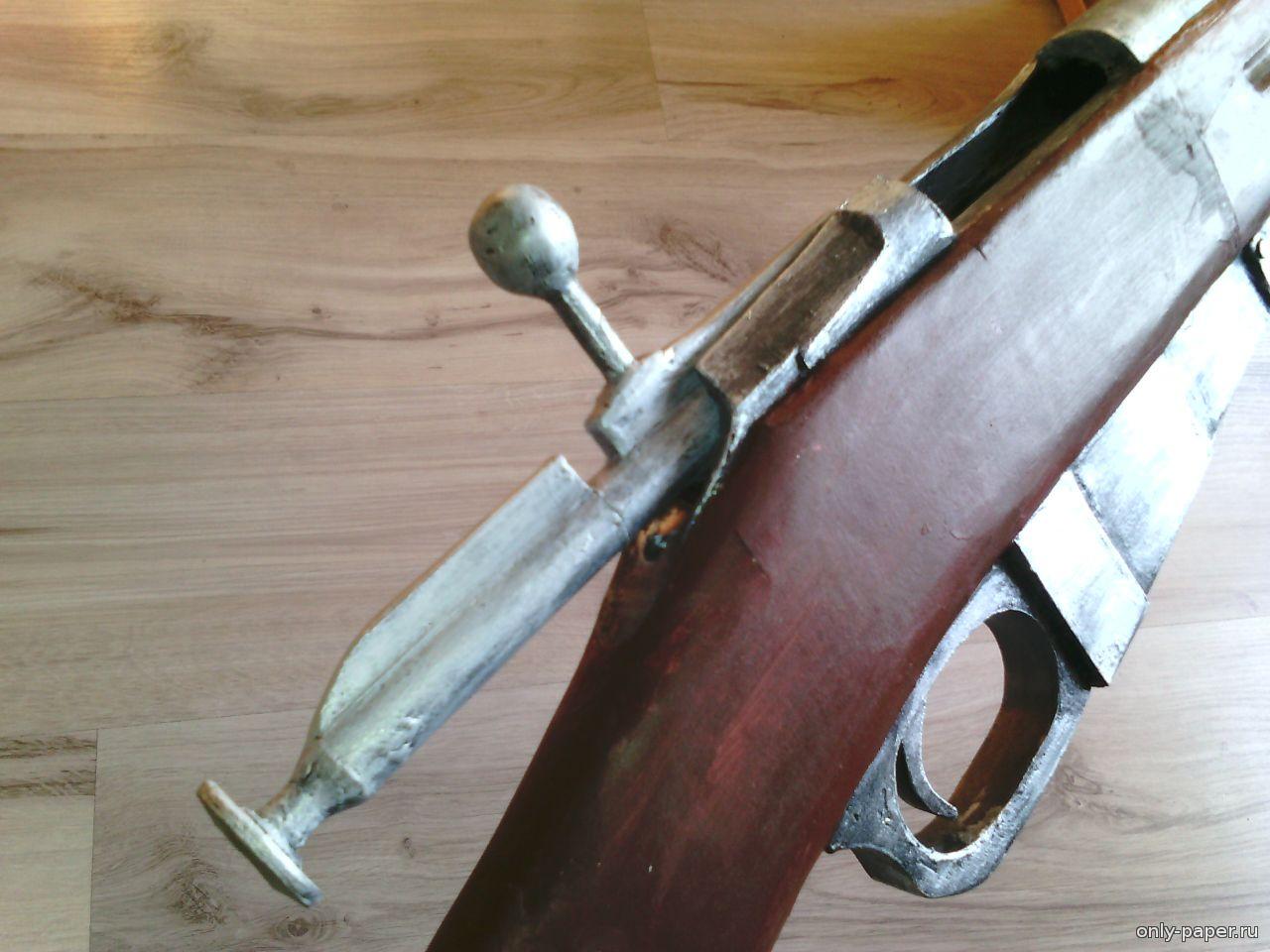 Как сделать из дерева винтовку мосина своими руками из бумаги