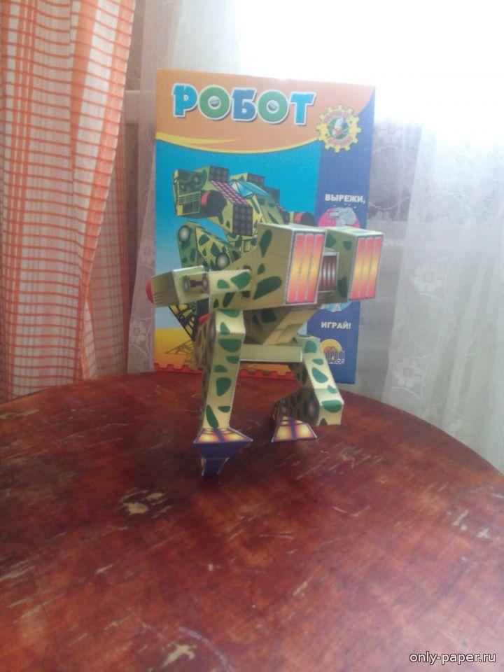 Робот из картона своими руками фото 610