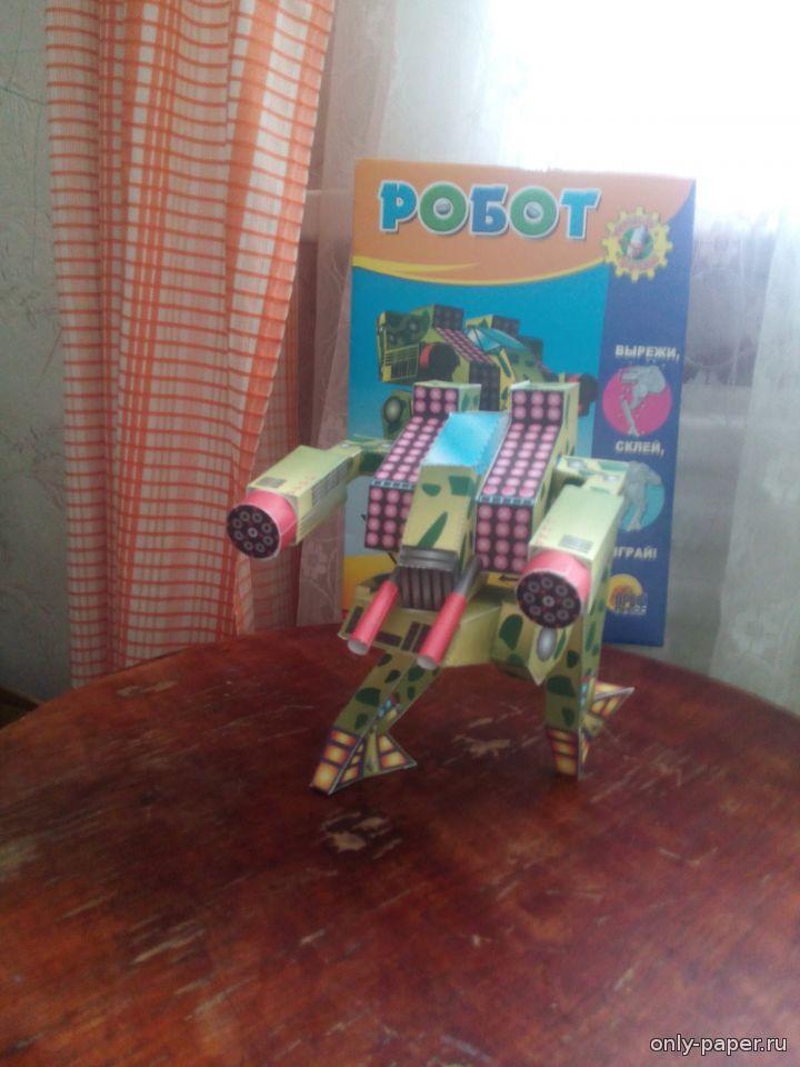 Робот из картона своими руками фото 202