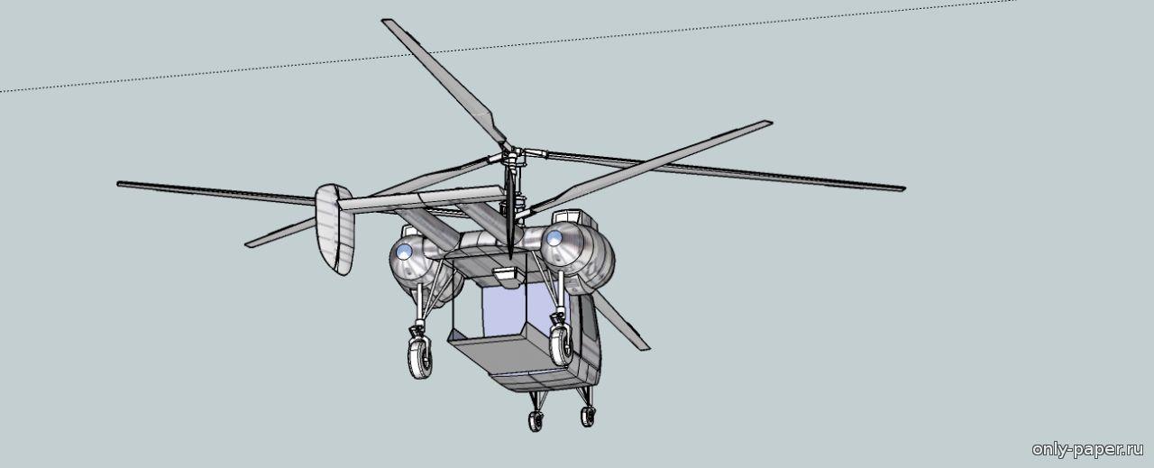 Как сделать вертолет из бумаги