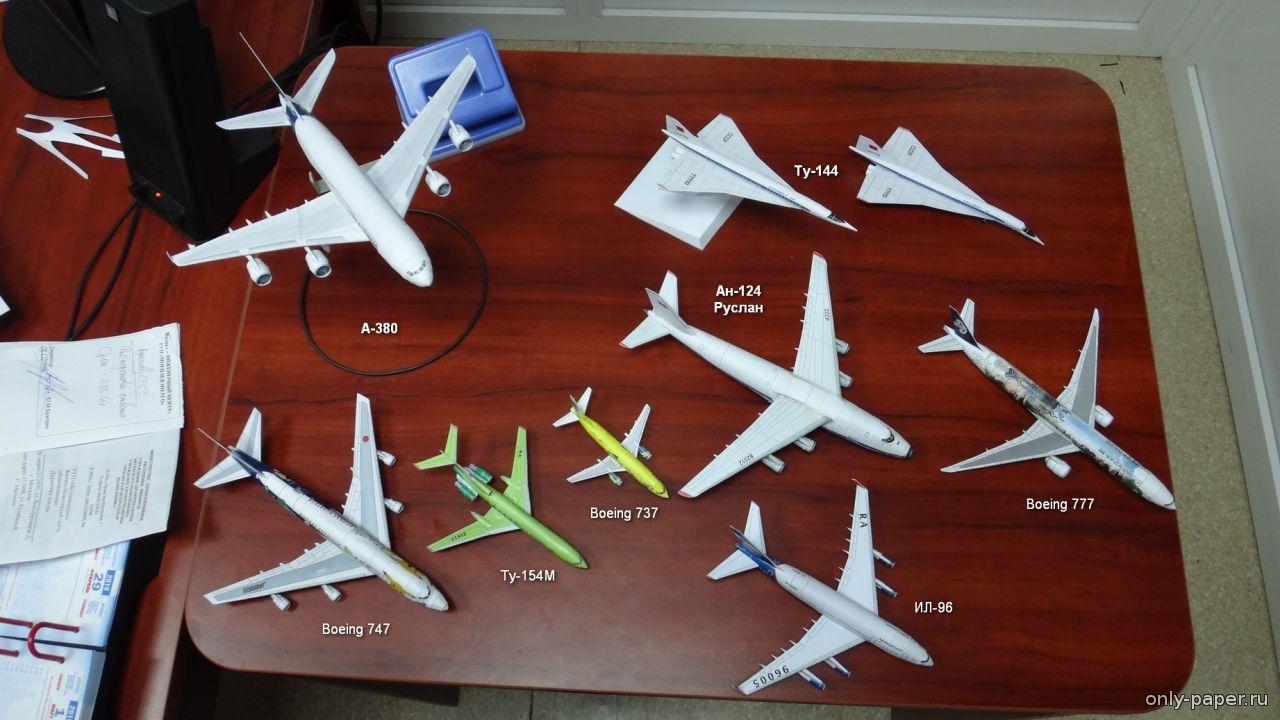 Самолет по своими руками из бумаги 145