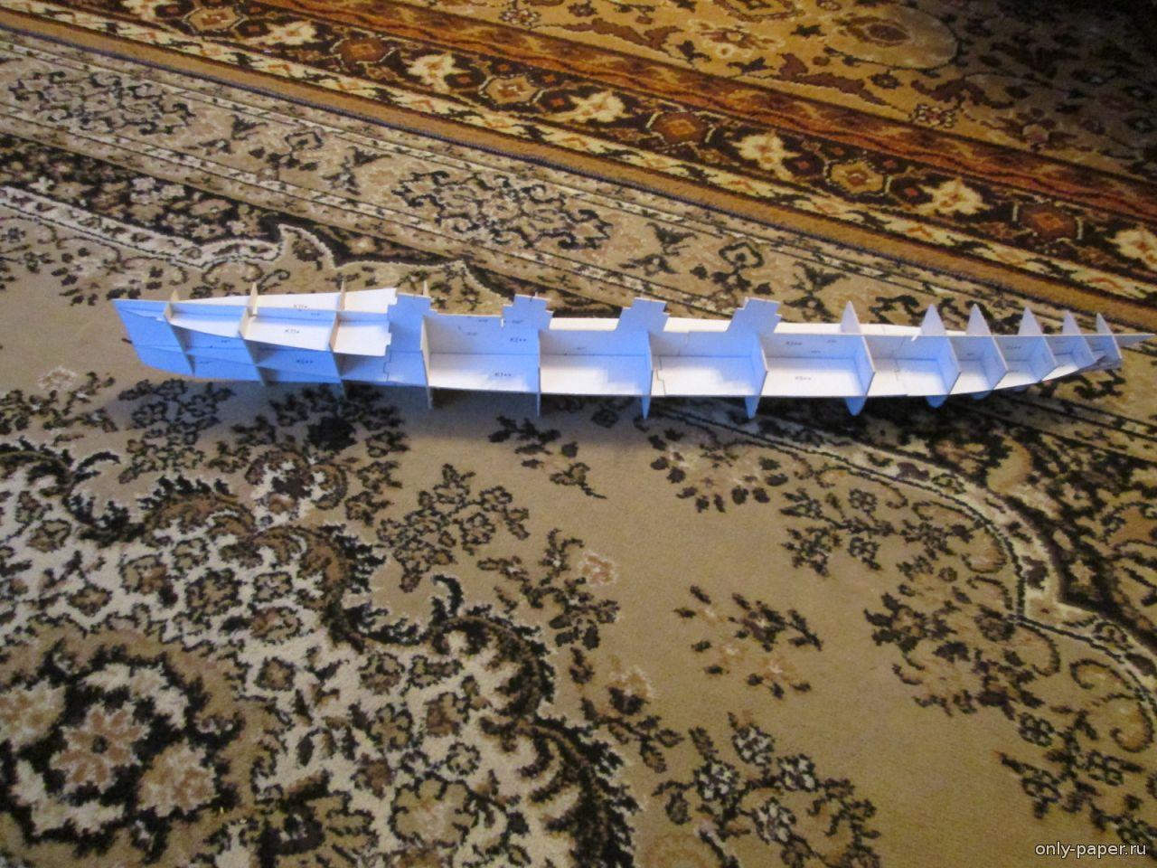 Как сделать лайнер из бумаги