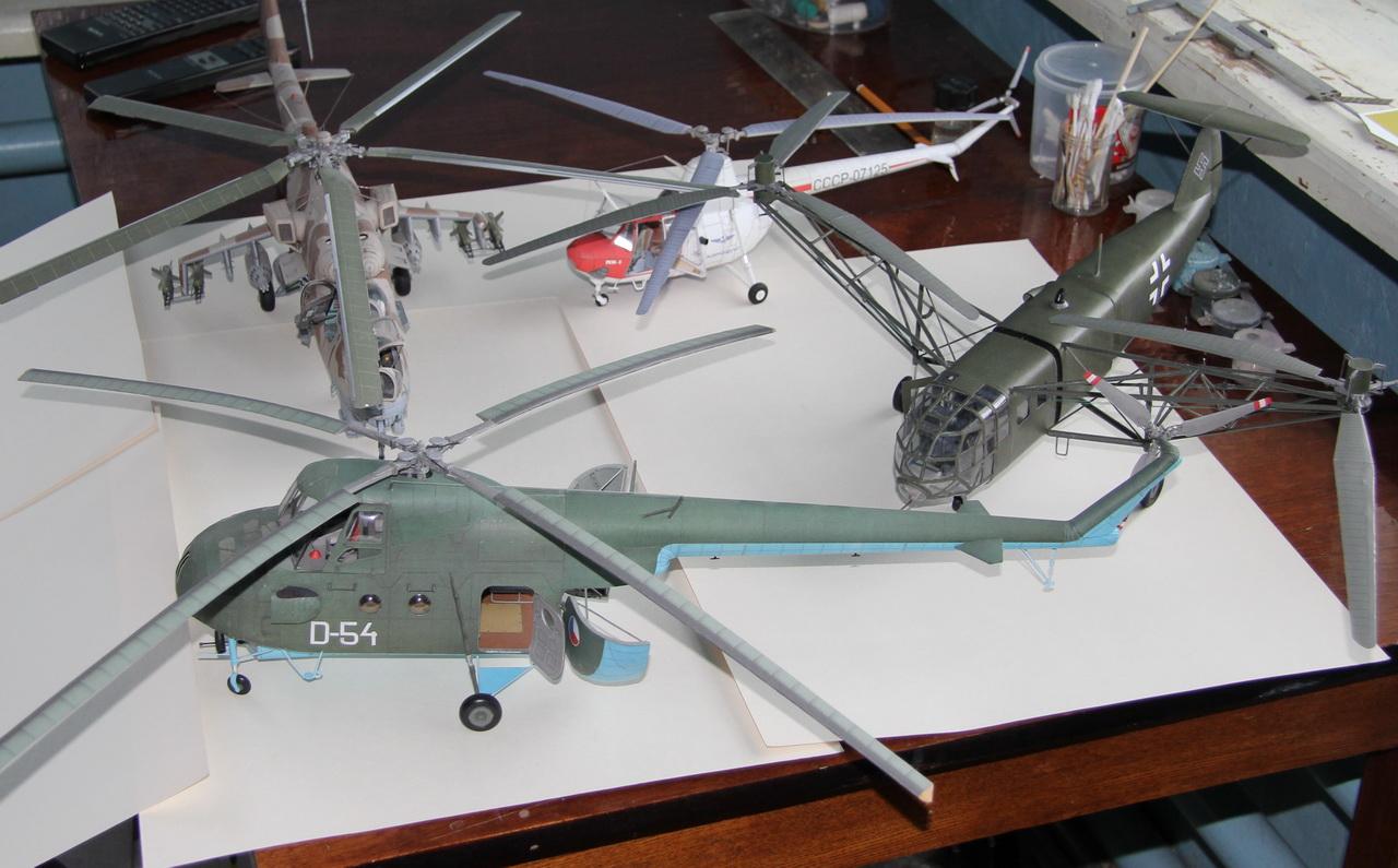 Вертолет игрушечный своими руками 52