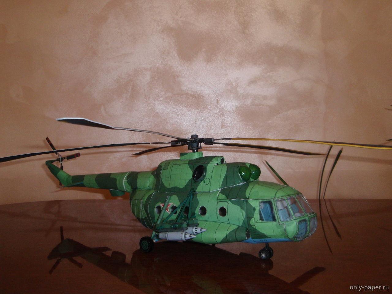 Вертолет из бумаги своими руками видео