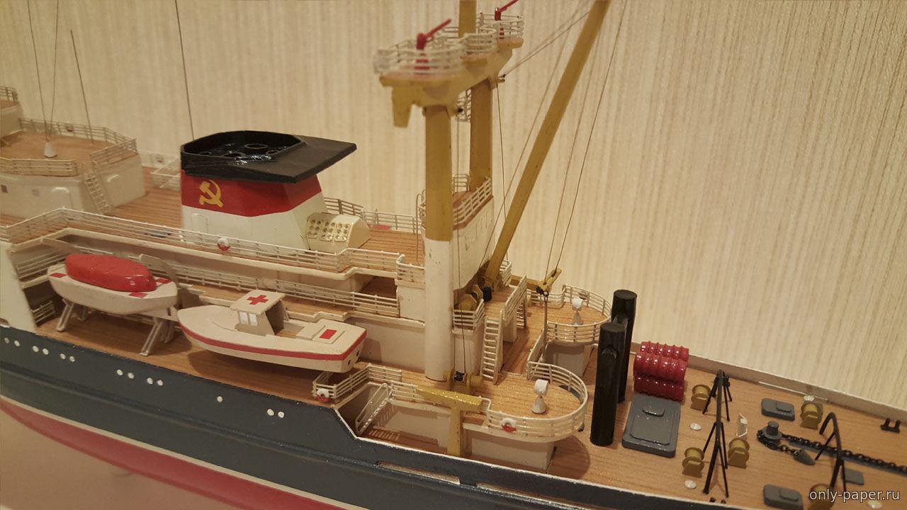 Модель корабля своими руками из картона 42
