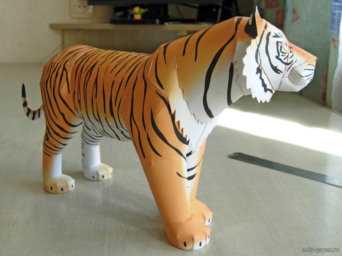 Сделать своими рукам тигра 14