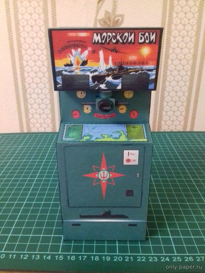 Как сделать игровой автомат из картона