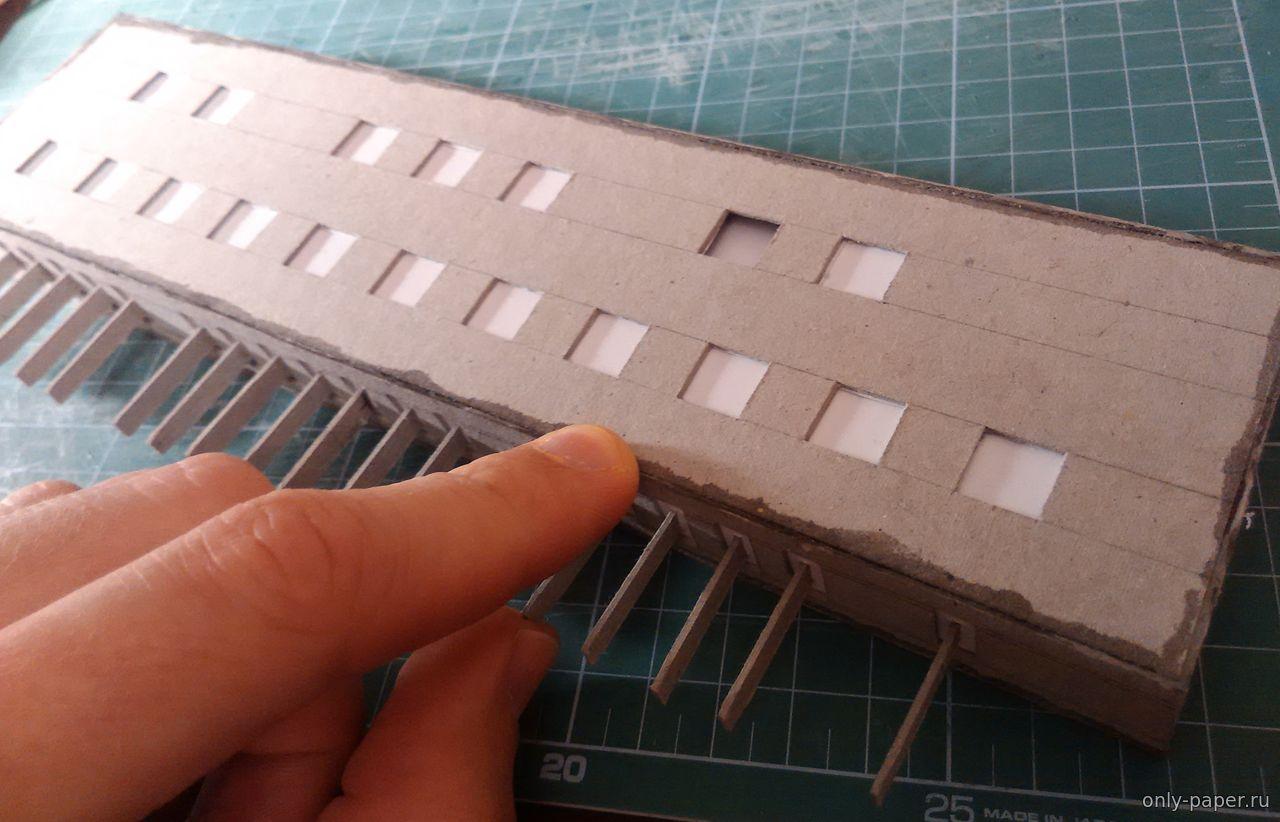 Действующий бумажный оргАн - Как сделать модели из бумаги и 46